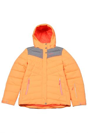 Куртка Icepeak. Цвет: оранжевый (big)