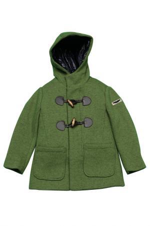 Пальто ASTON MARTIN. Цвет: зеленый