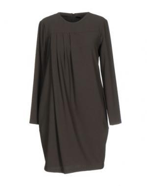 Короткое платье B.YU. Цвет: темно-зеленый