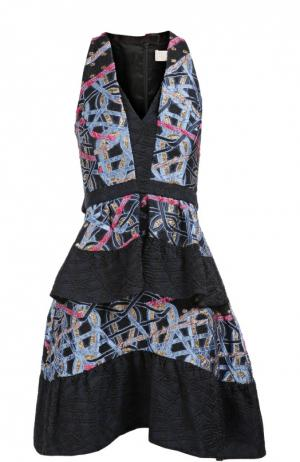 Платье Peter Pilotto. Цвет: синий