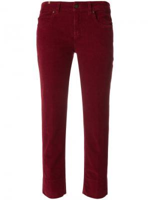 Прямые джинсы Notify. Цвет: красный