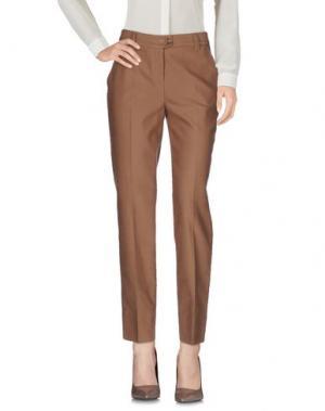 Повседневные брюки METRADAMO. Цвет: верблюжий