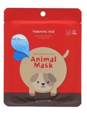 Маска для лица серии Animal mask  Собачка Berrisom. Цвет: белый