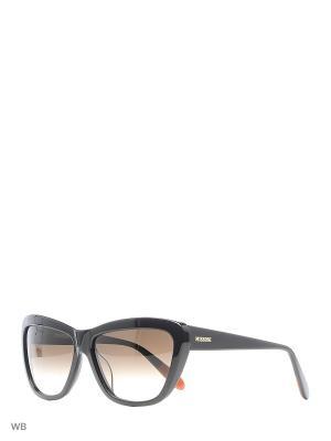 Солнцезащитные очки MI 796S 01 Missoni. Цвет: черный