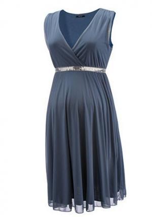 Платье «9 месяцев» NEUN MONATE. Цвет: синий