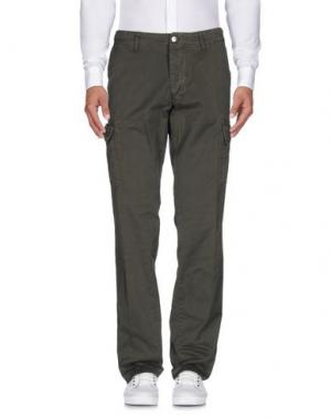 Повседневные брюки AVIO. Цвет: зеленый-милитари