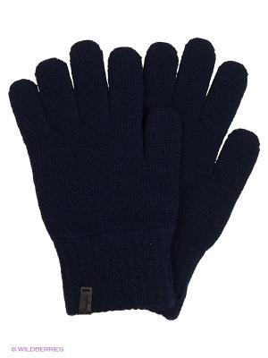 Перчатки Wrangler. Цвет: темно-синий