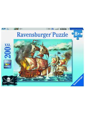 Пазл Бой пиратов XXL 200 шт Ravensburger. Цвет: лазурный