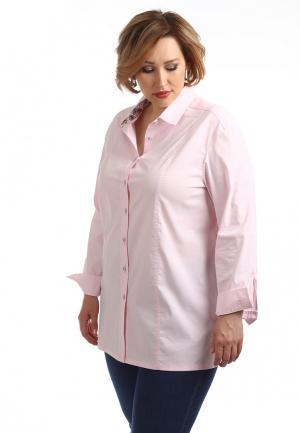 Рубашка Averi. Цвет: розовый