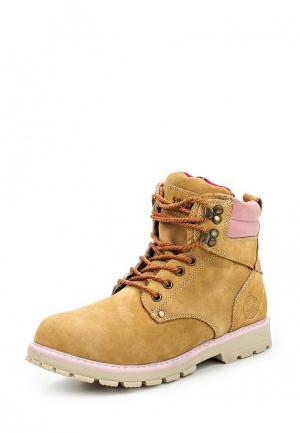 Ботинки Shuzzi. Цвет: желтый