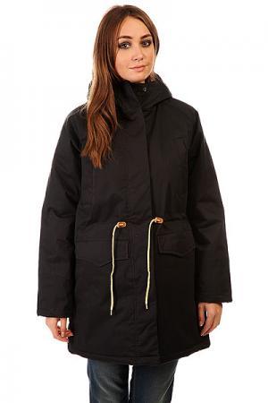 Куртка парка женская  Ws 15 Black Today. Цвет: черный