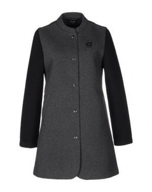Легкое пальто BLAUER. Цвет: стальной серый