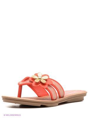 Пантолеты Grendha. Цвет: коралловый