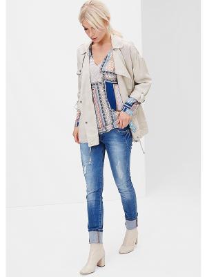 Куртка S.OLIVER. Цвет: светло-бежевый