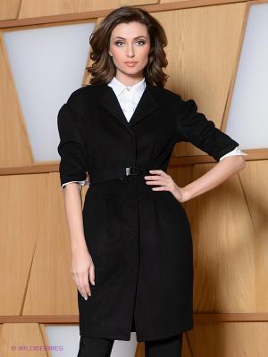 Пальто La Reine Blanche. Цвет: черный