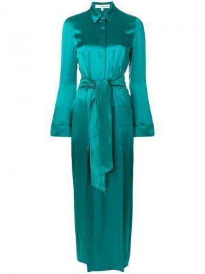 Платье-рубашка Laguna Galvan. Цвет: none