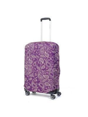 Чехол для чемодана Mettle, Модель Teness, Размер  M Mettle. Цвет: темно-фиолетовый, желтый