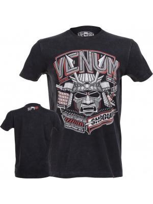 Футболка Venum Shogun Supremacy T-shirt - Black. Цвет: черный