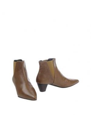 Полусапоги и высокие ботинки FARRUTX. Цвет: хаки