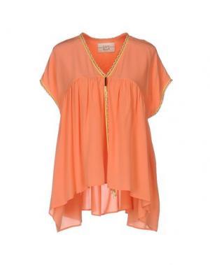Блузка ELLA LUNA. Цвет: лососево-розовый