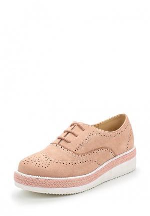 Ботинки Vera Blum. Цвет: розовый
