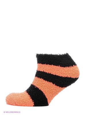 Носки Infinity Lingerie. Цвет: черный, оранжевый