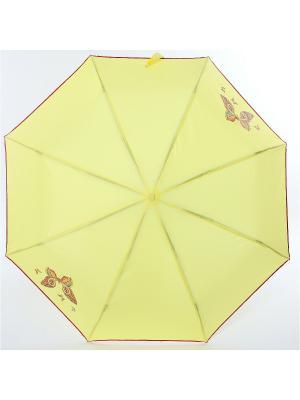 Зонт ArtRain. Цвет: красный, светло-желтый