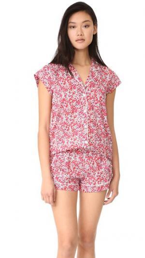 Пижама Olivia Liberty Three J NYC. Цвет: красный уилтшир