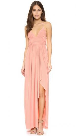 Платье Ever MISA. Цвет: розовый