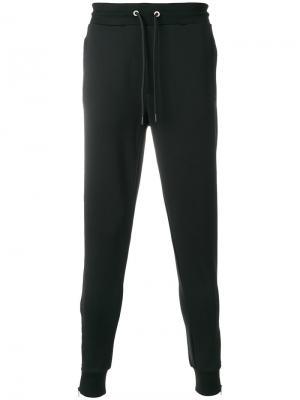 Классические спортивные брюки Dirk Bikkembergs. Цвет: чёрный