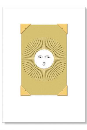 Набор открыток с конвертами Fringe. Цвет: мультицвет