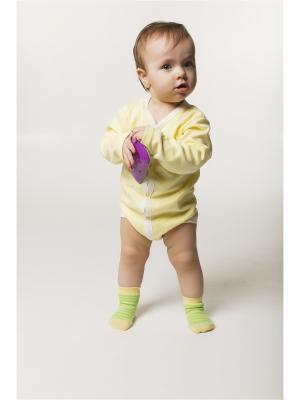 Боди ORANGE BABY. Цвет: светло-желтый, бежевый