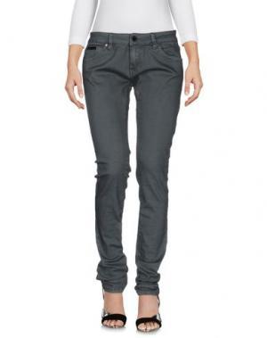 Джинсовые брюки G.SEL. Цвет: серый