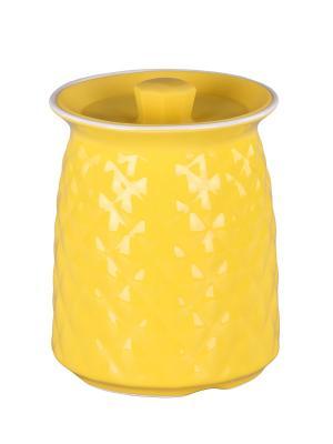 Банка 17 см. PATRICIA. Цвет: желтый