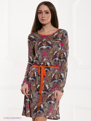 Платье PENYE MOOD. Цвет: темно-бежевый, бежевый
