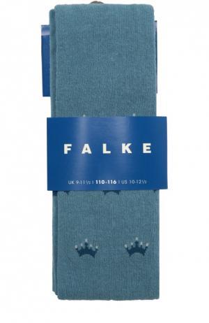 Колготки с принтом Falke. Цвет: синий