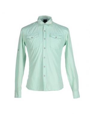 Pубашка INDIVIDUAL. Цвет: светло-зеленый