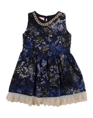 Платье PARIS HILTON. Цвет: темно-синий