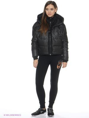 Куртка NIKE UPTOWN 550 COCOON JACKET. Цвет: черный