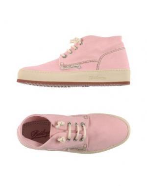 Высокие кеды и кроссовки BARLEYCORN. Цвет: розовый