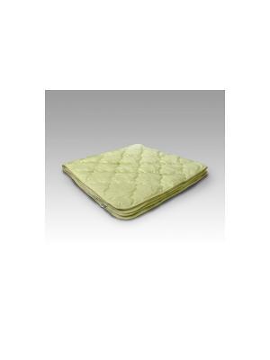 Одеяло Козий пух ИвШвейСтандарт. Цвет: серо-зеленый, темно-бежевый