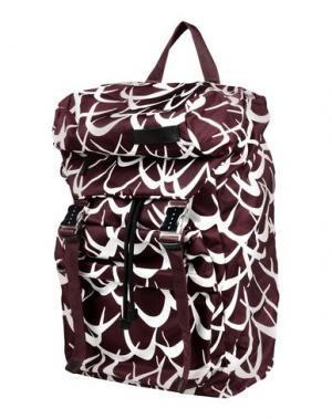 Рюкзаки и сумки на пояс MARNI. Цвет: баклажанный