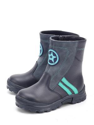 Ботинки ShagoVita. Цвет: синий