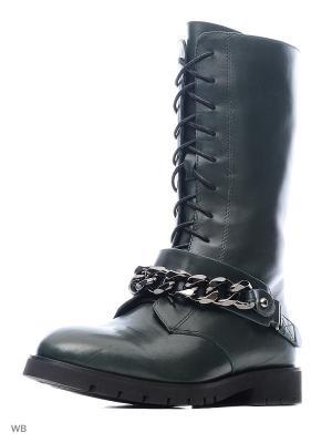 Ботинки Sasha Fabiani.. Цвет: зеленый