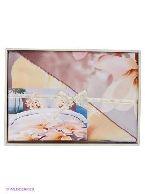 Комплект постельного белья Сафина Sofi de Marko. Цвет: лиловый, розовый