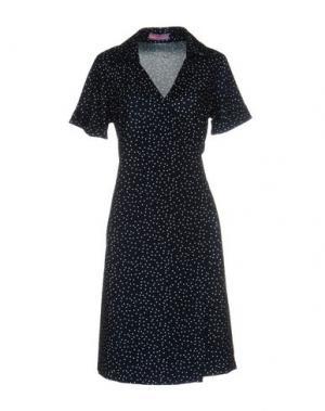 Короткое платье HOPE 1967. Цвет: темно-синий