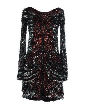 Короткое платье ZUHAIR MURAD. Цвет: черный