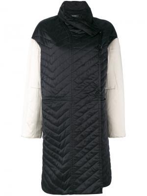 Стеганое пальто Isabel Marant. Цвет: чёрный