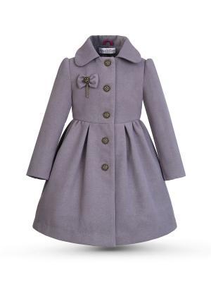 Пальто Грета Alisia Fiori. Цвет: серый, бронзовый