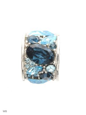 Шарм Сокровищница BUNNY. Цвет: темно-синий, голубой, серебристый